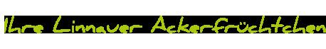 Signet: Ihre Linnauer Ackerfrüchtchen-Familien